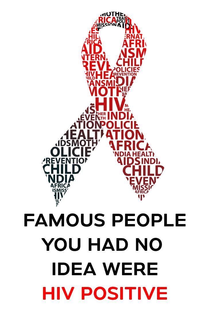 This list of famous people with HIV is loosely ranked by fame and popularity.  #unknown #HIV