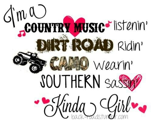 Country, Girls And