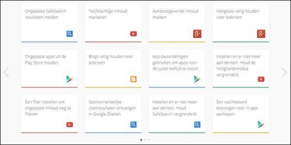 Veiligheidstips van google: Veiligheidscentrum-2