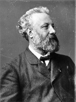 Jules Gabriel Verne (1828-1905) was a French author who pioneered the science fiction genre. He is best known for his novels Twenty Thousand Leagues Under the Sea (1870), A Journey to the Center of the Earth (1864), and Around the World in Eighty Days (1873). Verne wrote about space, air, and underwater travel before air travel and practical submarines were invented, and before practical means of space travel had been devised. He is the second most translated author in the world (after…