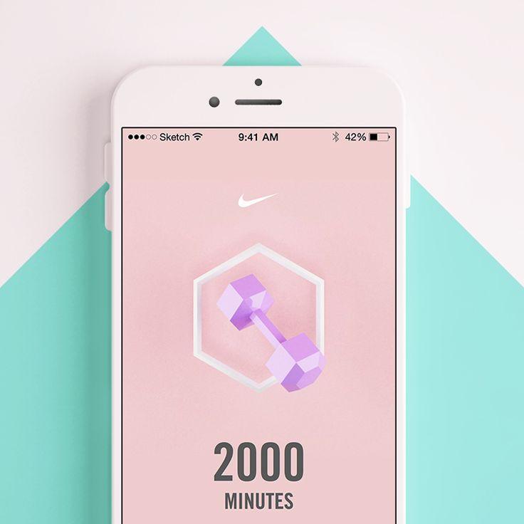 Nike+TC on Behance