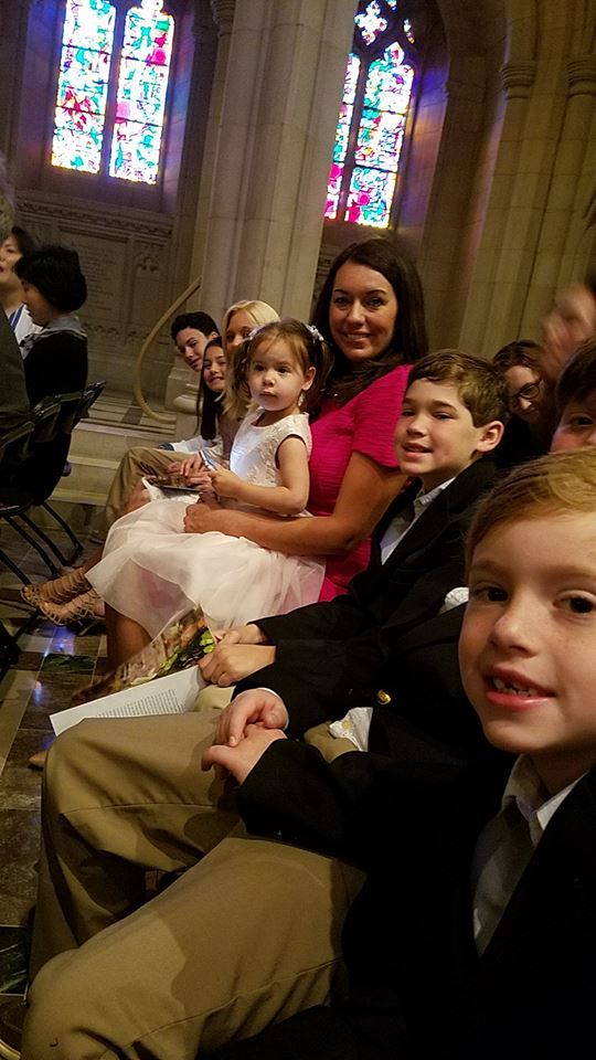 Upton-Perren bunch at the Washington National Cathedral