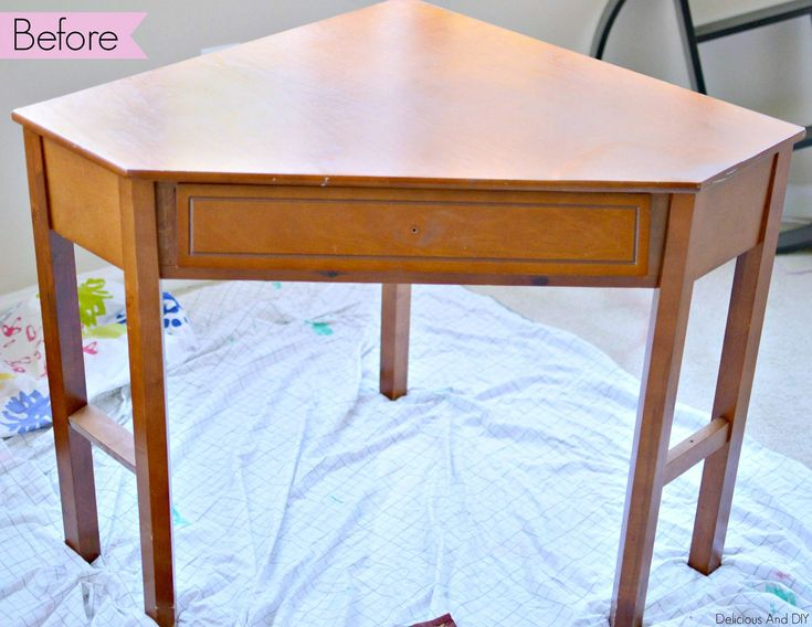 Create a flawless paint finish and completely transform a plain writing table in...