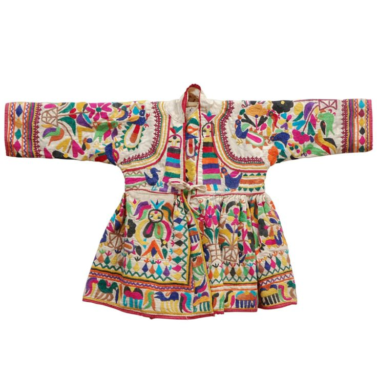Embroidered Child's Dress from India