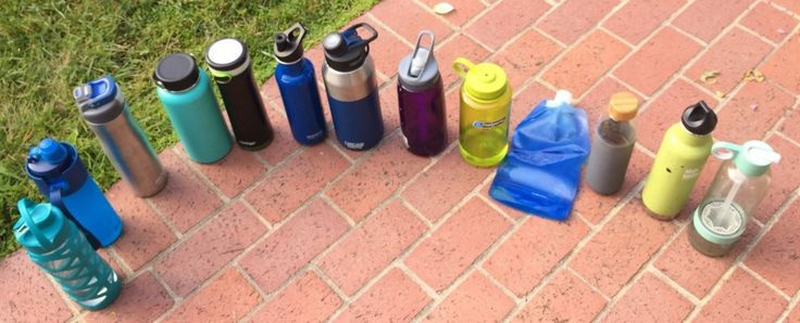 How to Choose the Best Water Bottle | All thirteen bottles lined out at the beginning of this year's testing cycle.