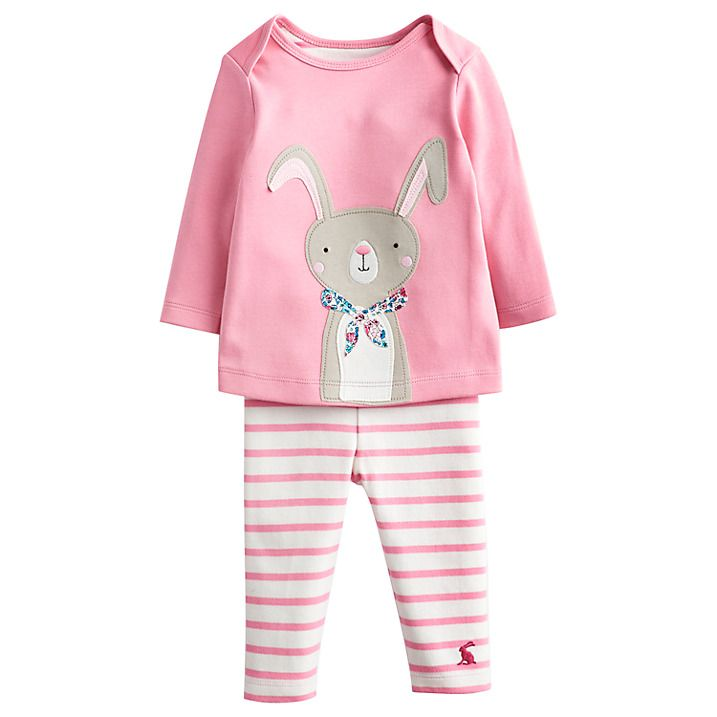 Buy Little Joule Baby's Poppy Rabbit Outfit, Multi, 0-3 months Online at johnlewis.com