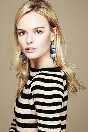 Kate Bosworth yeah, but I like her shirt and earrings.