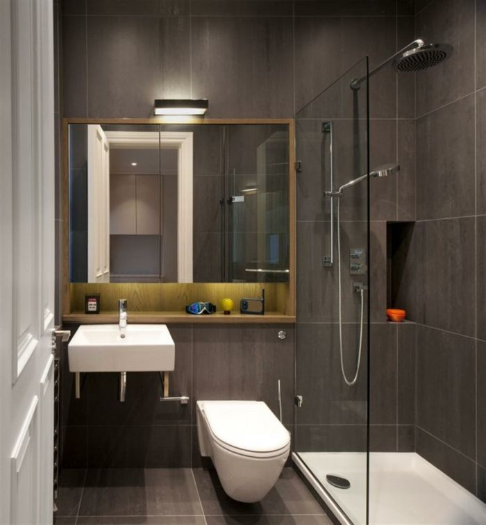 14 best Bathroom images on Pinterest Bathroom, Home ideas and - badezimmer kleine räume