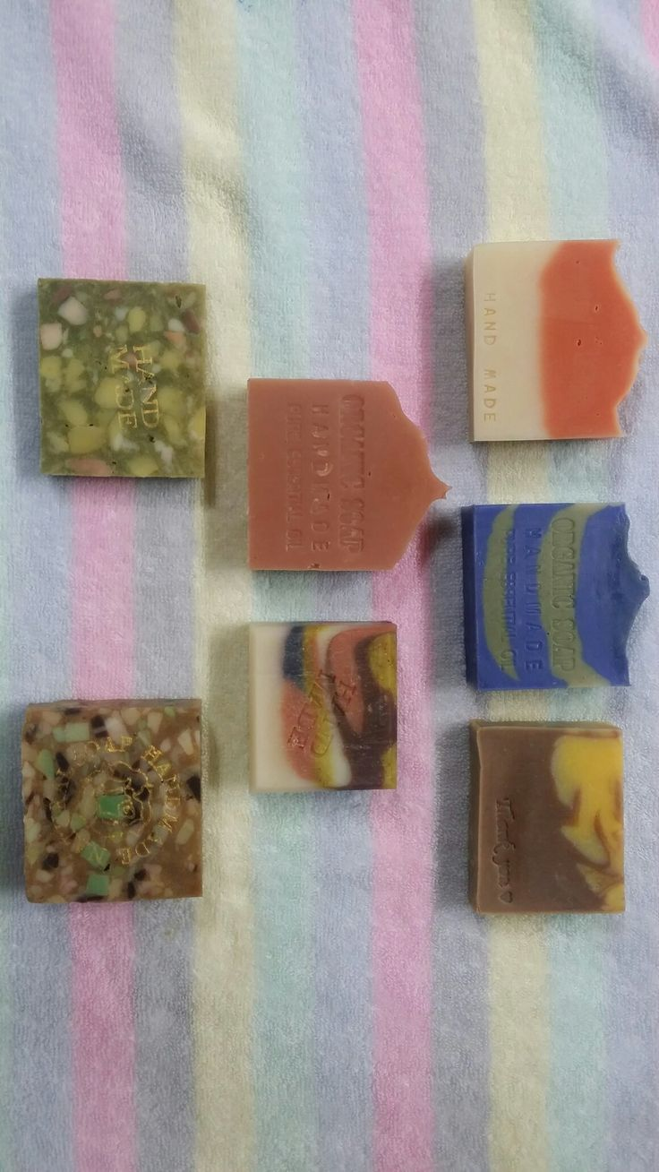 Cold process and Rebatching soap