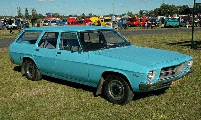 Had a HQ Holden wagon but purple