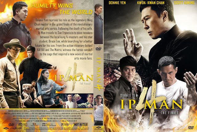 Ip Man 4 The Finale Dvd Cover In 2020 Ip Man Ip Man 4 Dvd Covers