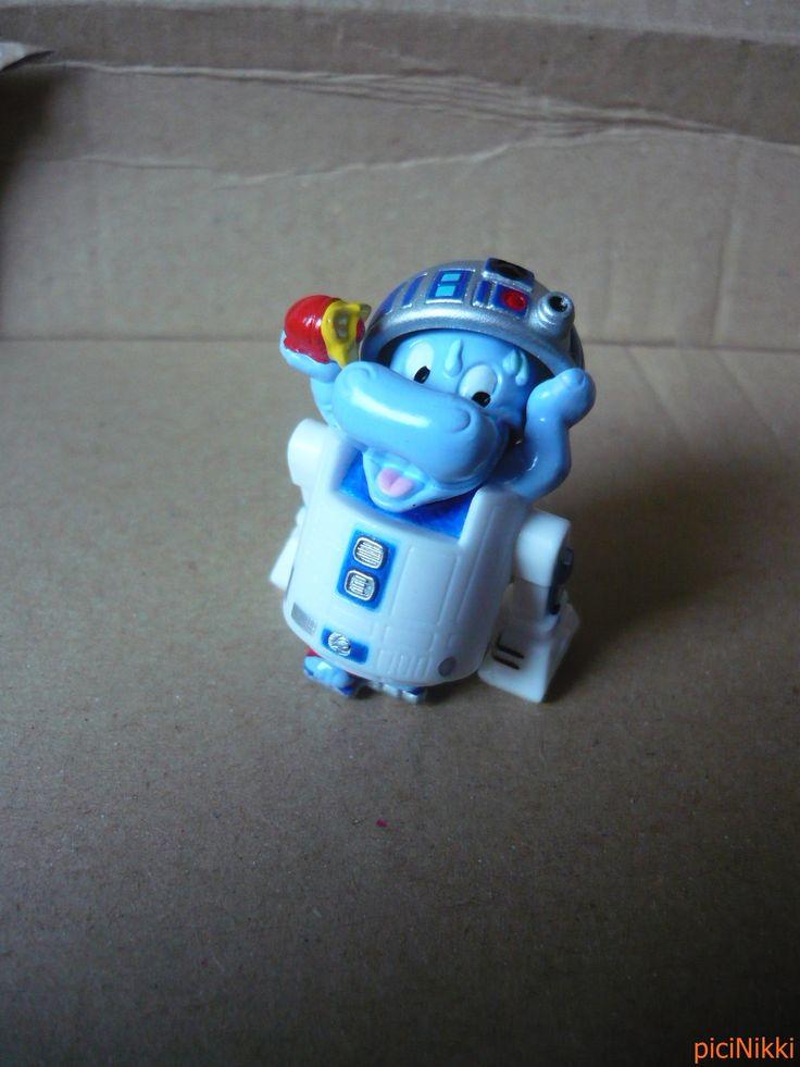 No. 13 | víziló | hippo | Happy Hippo | Kinder | Erzwo Hippo | Star Wars