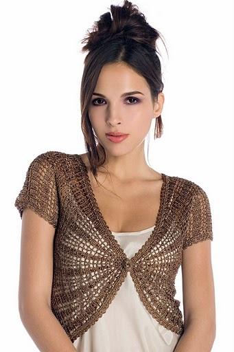 Estrella y Lalis..... de todo un poco: Blusas tejidas con patrones ...