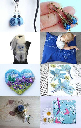 Blue eyes by Przemila K on Etsy--Pinned with TreasuryPin.com