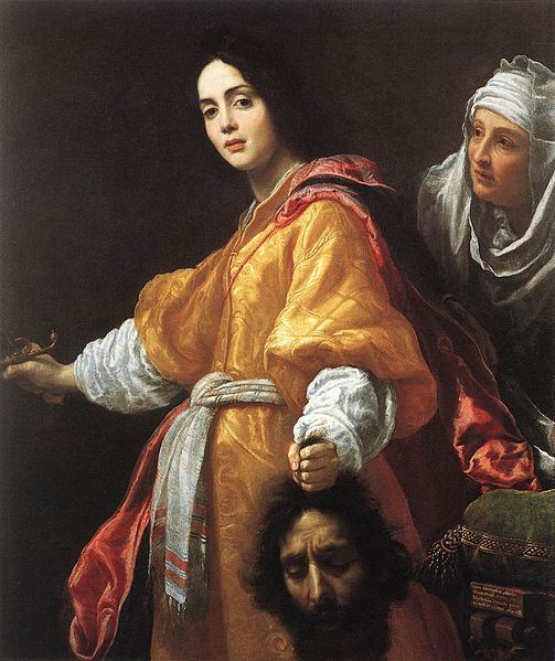 Judith with the Head of Holofernes (1613); Cristofano Allori (Royal Collection at Windsor Castle)
