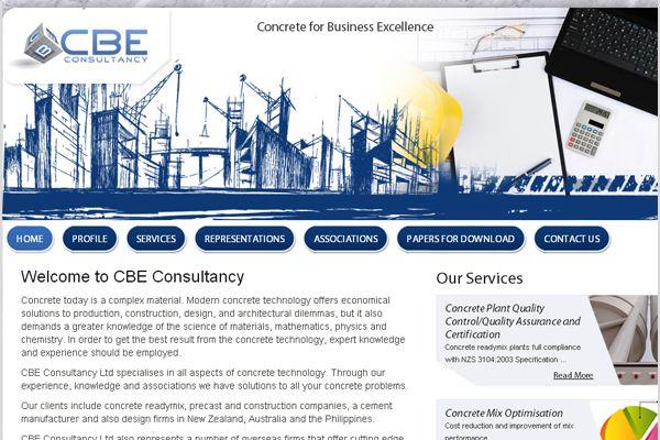 CBE Contruction – Corporate website