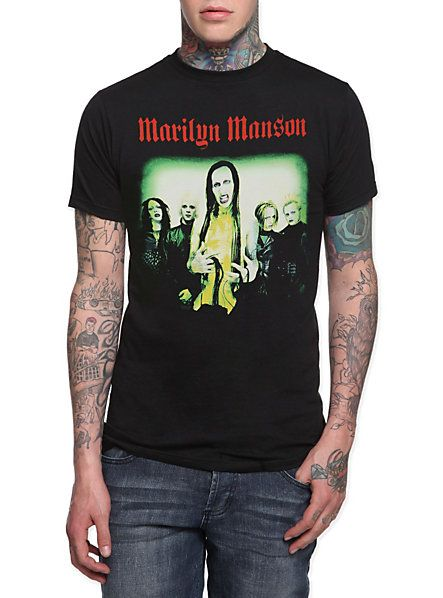 marilyn manson holy wood group t shirt hot topic sky. Black Bedroom Furniture Sets. Home Design Ideas