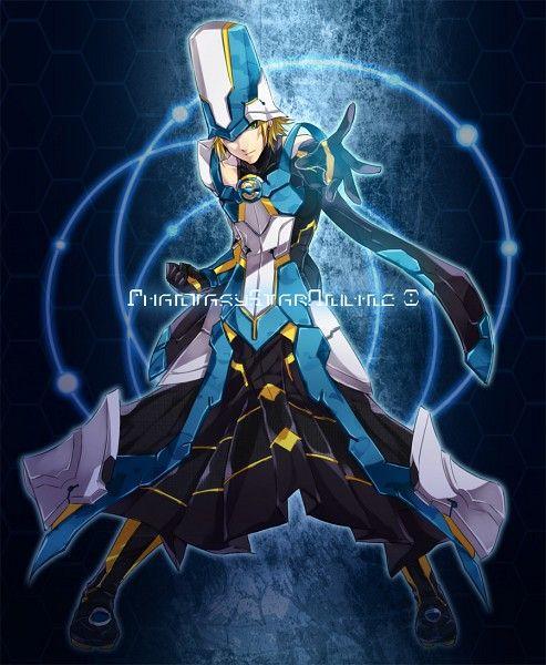 Yomo - Phantasy Star Online 2 art