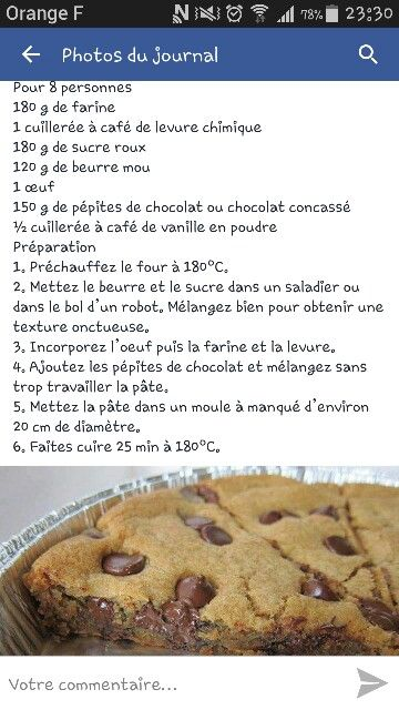 Énorme cookie