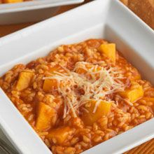Delicious Butternut Squash Risotto with our Ocean's World Cuisine Arrabiata Sauce, serves 4-6 #fromtheheartofitaly #loveitalianfood #arrabiata #allnatural #vegetarianpastarecipe #glutenfreerecipe @oceansworld