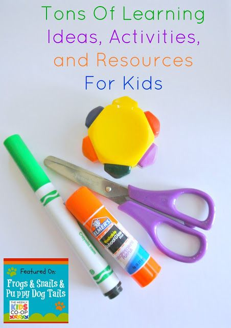 Tons Of Learning Ideas, Activities, and Resources For Kids {featured from the Kids Co-op and this weeks link up 8-1}