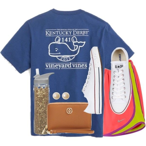 ✺Life goes on✺ by kaley-ii on Polyvore featuring polyvore, fashion, style, NIKE, Converse and Tory Burch