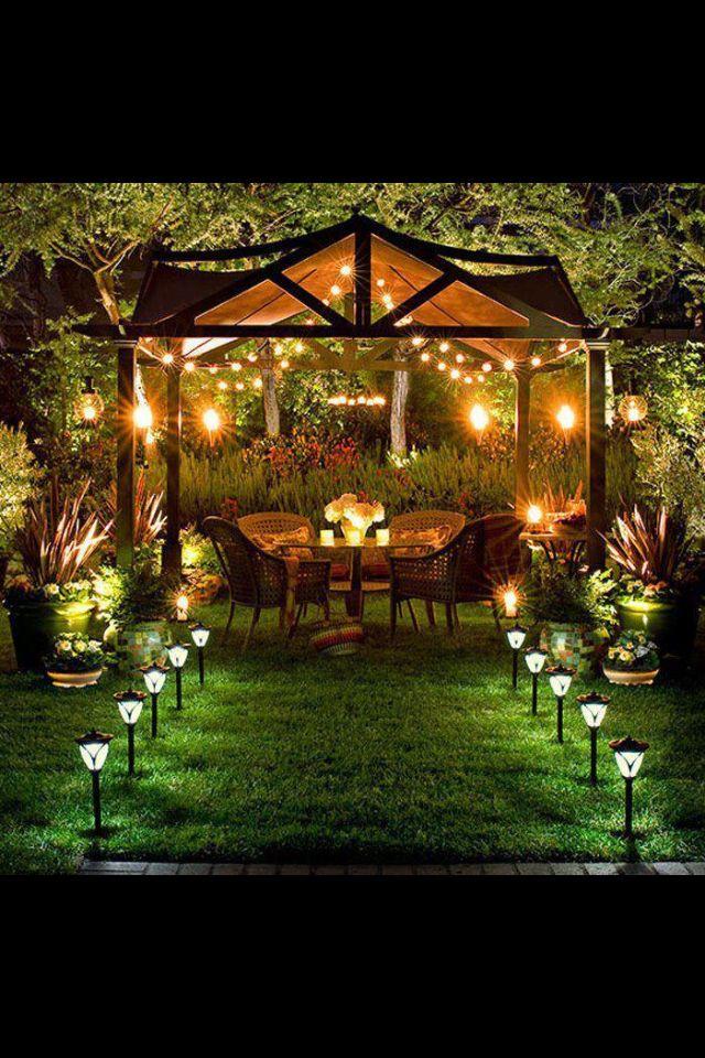 Romantic Backyard Ideas : yard great for romantic dates more backyard ideas garden ideas outdoor