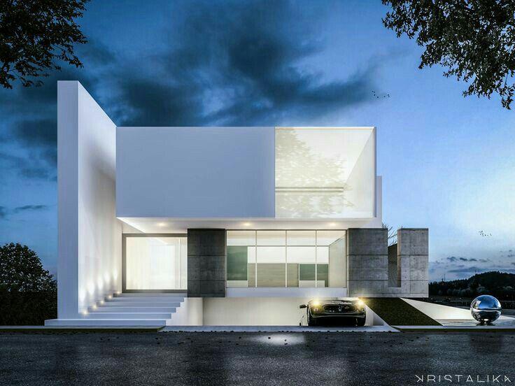 Good Wohnhaus, Fassaden, Modell, Sehen, Moderne Häuser, Moderne Hausfassaden,  Moderne Architektur, Haus Design, Architekten