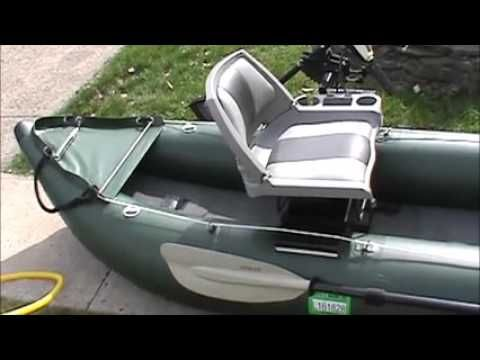 Saturn FK 396 Inflatable Fishing Kayak Review