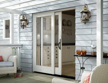 double sliding glass doors - Exterior Patio Sliding Doors