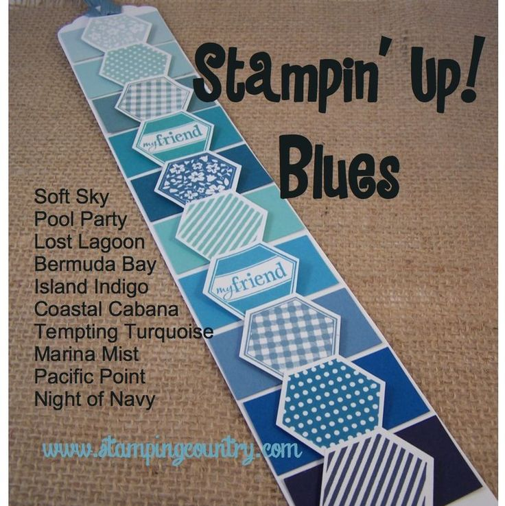 2014 In Colors Stampin Up: Stampin' Up Tips & Ideas