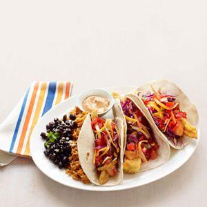 Healthier Fish Tacos #grilling