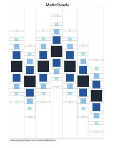 free pattern, Modern Bargello Pattern.pdf More
