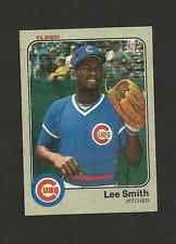 1983 FLEER BASEBALL CARD # 508 LEE SMITH  Chicago Cubs   mint