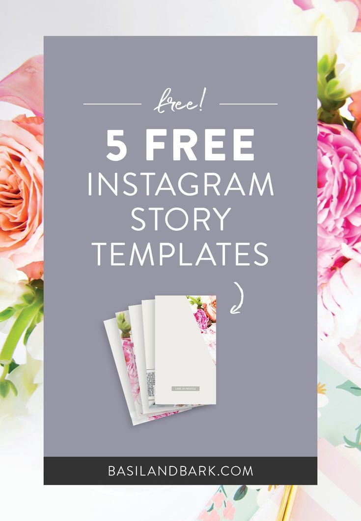 Get 5 FREE #Instagram story templates and start driving traffic to your content today by using Instagram's new Highlights feature in a strategic way! Use these templates to promote your blog post, your opt-in or lead magnate, or your passive income products! // Basil and Bark