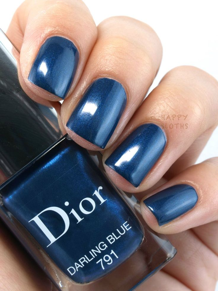 "The Happy Sloths: Dior Fall 2015 Dior Vernis in ""791 Darling Blue"", ""001 Miroir"", ""701 Metropolis"" & ""785 Cosmopolite"": Review and Swatches"