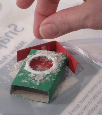 The Matchbook: DEMO! Matchbox Ornament