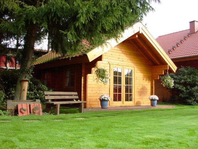 Large apex roof cabin - amazing but simple design