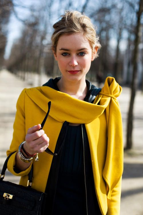 one of my favorite jackets: In My Dreams, Black Outfits, Style, Jackets, Collars, Mustard Coats, Fashion Inspiration, Fall Fashion, Yellow Coats