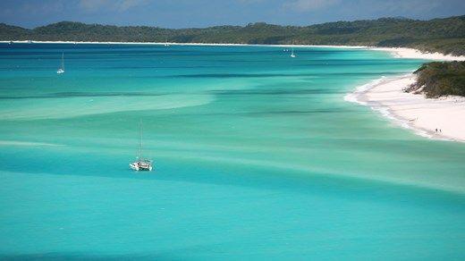 The amazing Withsunday Islands in Australia #beach #islands #kilroy #backpacking #australia