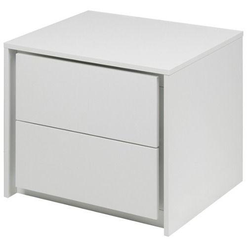 criado mudo branco 45l x 40a x 35 mdf moderno e leve ML - R$ 189,00