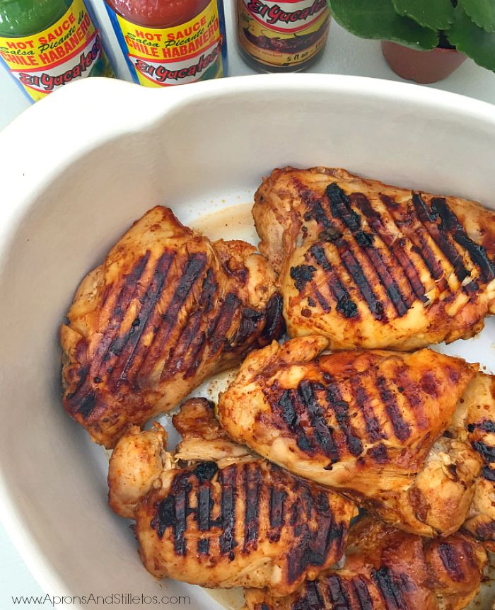 Aprons and Stilletos: Chipotle-Orange Grilled Chicken Recipe