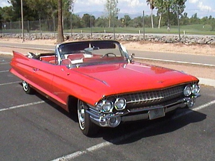 1270 best cadillac images on pinterest vintage cars antique cars 1961 cadillac coupe deville convertible swarovskicordoba Images