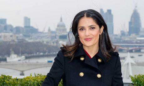 Salma Hayek: My family values
