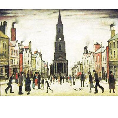 'Berwick upon Tweed' by LS Lowry