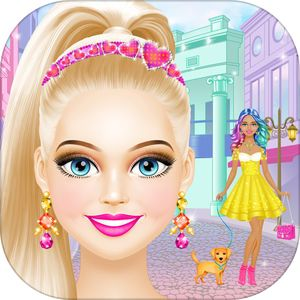 Fashion Girl - Makeup and Dress Up Makeover Games by Peachy Games LLC