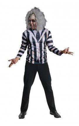 Kit disfraz de Beetlejuice para hombre