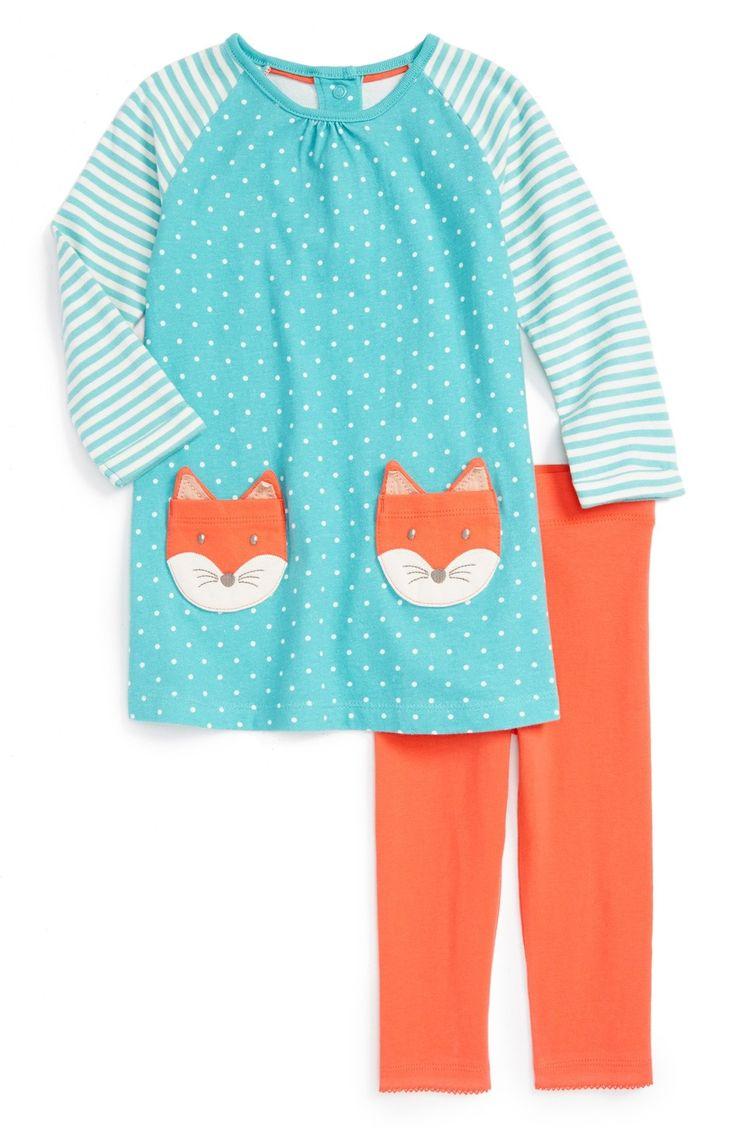 Mini Boden 'Fun' Animal Patch Pocket Dress