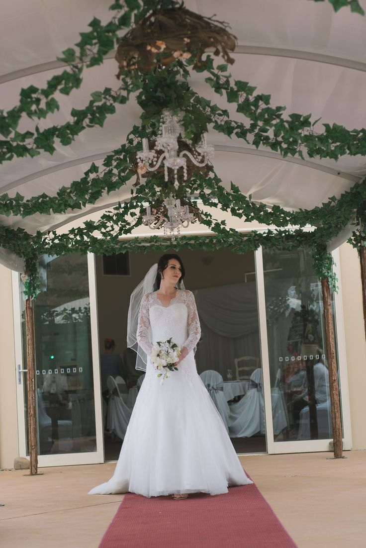 Romantic Lace & Tulle Fit n Flare Sweet Angels Bridal Australia Wedding Dress