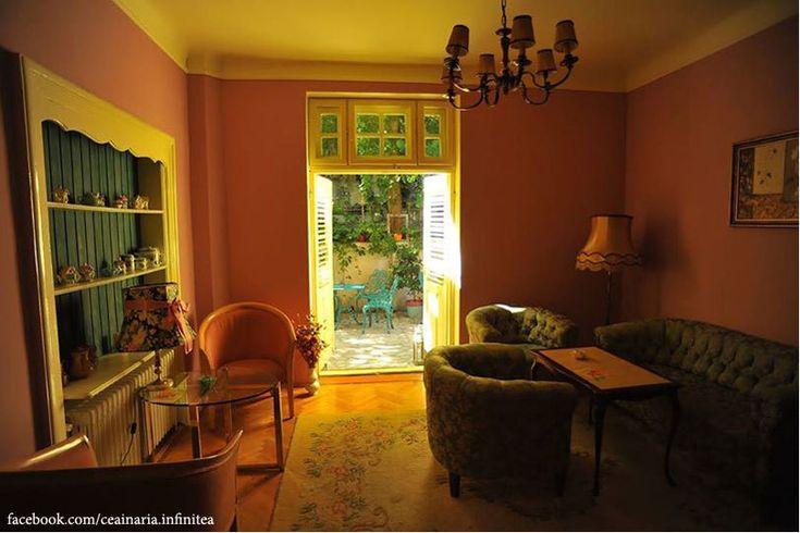 Laura Caltea - Blogul unei cititoare de cursa lunga | Ceainăria Infinitea București - O grădină de vis, o ceainărie de poveste